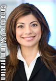 Photo of Saba Naqvi, called to California Bar and BC Canada Bar to practice USA  and Canadian Immigration law
